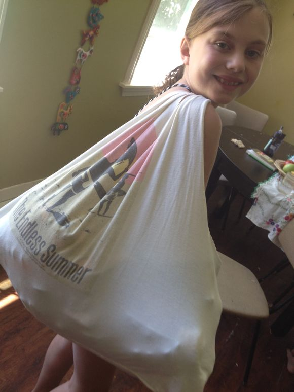 Pinterest Project Success: tshirt bag